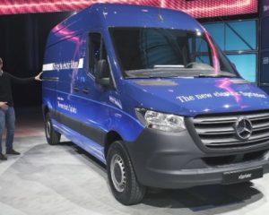 Mercedes-Benz eSprinter - немецкий автоконцерн продолжает электрифицировать коммерческий транспорт